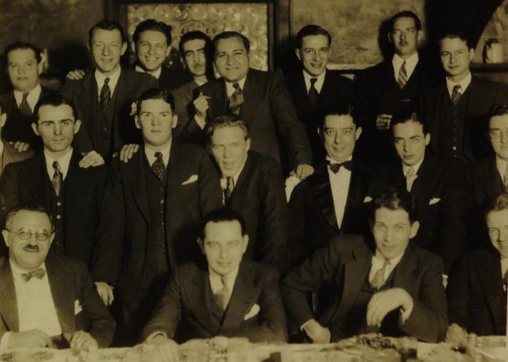 A Fleischer Studio gathering in 1931