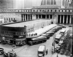 Greyhound and Penn Station, 1935